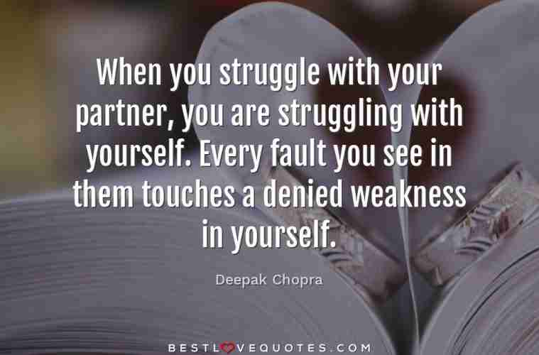 Struggling Love Quotes Stunning When You Struggle With Your Partner You Are Struggling With