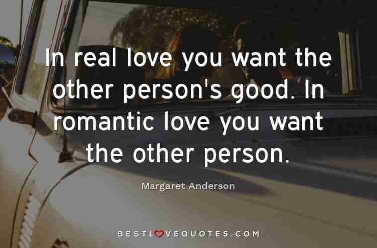 want real love